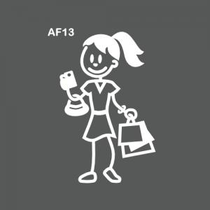 Ado fille fan de shopping