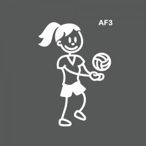Ado fille joueuse de volley