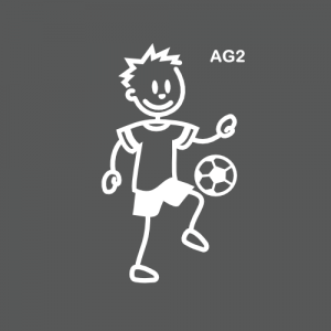 Ado garçon joueur de foot