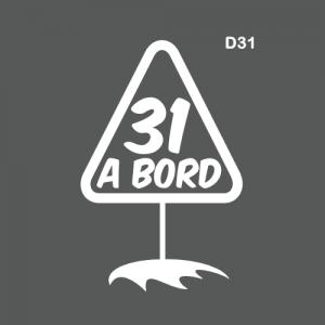 Département 31 à bord