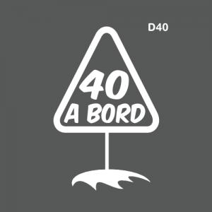 Département 40 à bord