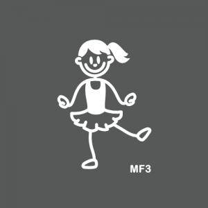 Fille danseuse