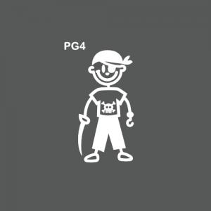 Petit garçon pirate