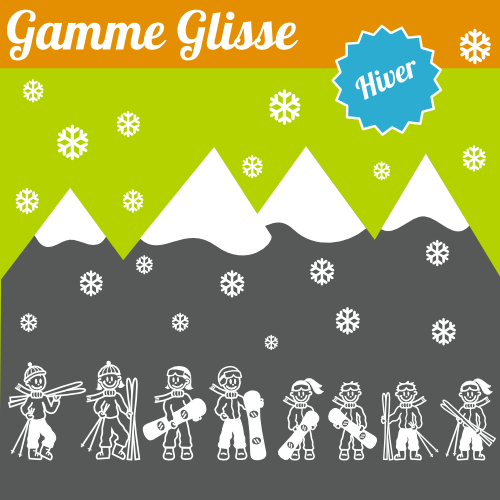 Gamme glisse hiver